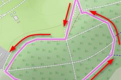 Streckenplan-MTB